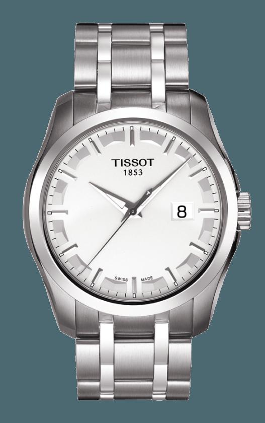 TISSOT 'Couturier' Gents Watch Steel