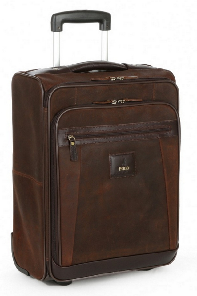 POLO Raw Oil Skin Carry-On Trolley